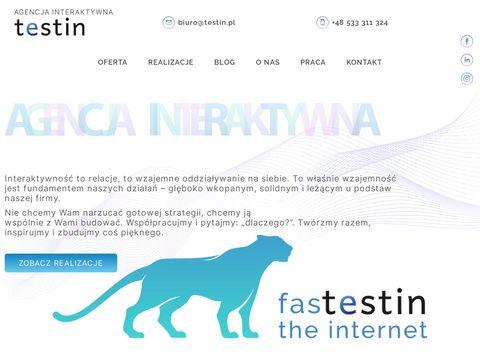Testin.pl - strony internetowe