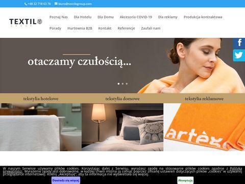 Textilogroup.com poszewki hotelowe