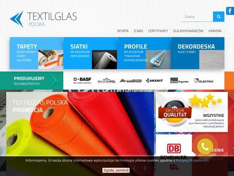 Textilglas.pl - siatki z włókna szklanego