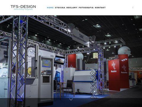 Tfsdesign.eu budowa stoisk targowych