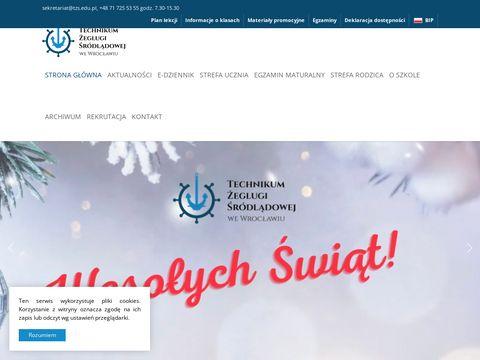 Tzs.edu.pl szkoła żeglarska Wrocław