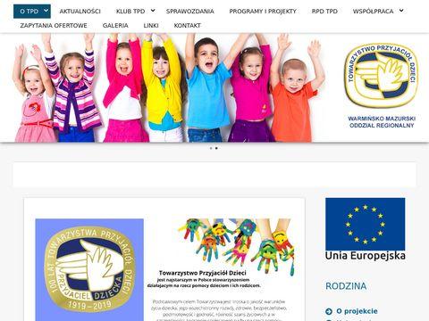Towarzystwo Przyjaciół Dzieci oraganizacje pozarządowe