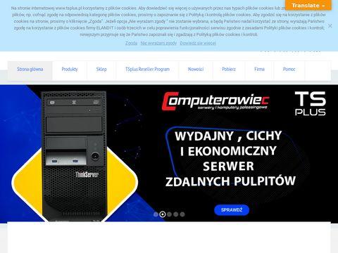 Tsplus.pl zdalny komputer