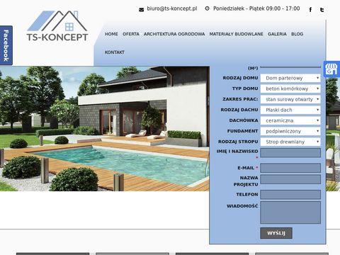 Ts-koncept.pl budowa domów Niemce