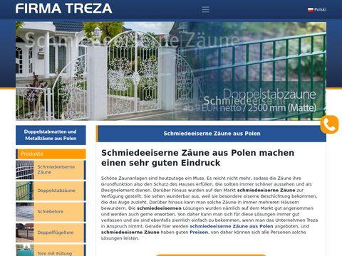 Treppezaunpoland.com - bramy metalowe
