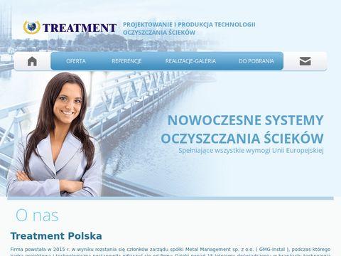 Treatment Polska technologia oczyszczania ścieków