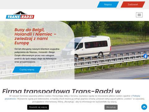 Trans-radzi.pl bus z Holandii do Polski