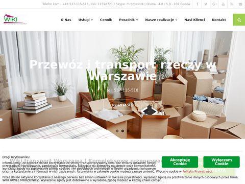 Transportprywatny.com bagażówka Warszawa