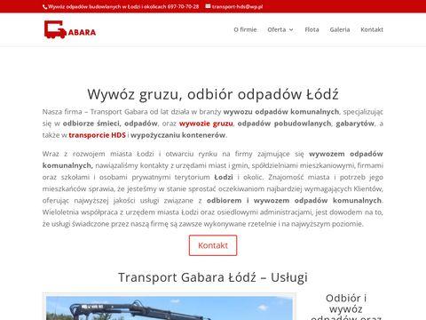 Transport-gabara.pl kręgi betonowe Łódź