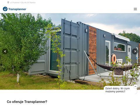 Transplanner kontenery magazynowe sprzedaż wynajem