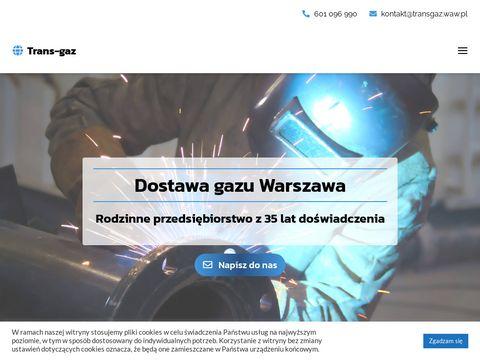 Transgaz.waw.pl gazy spawalnicze mazowieckie