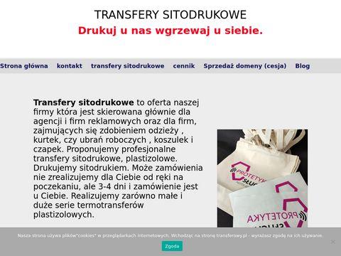 Transferowy.pl termotransfery sitodrukowe Lublin