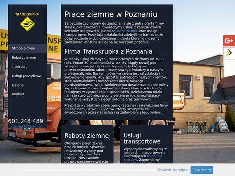 Transkrupka młot wyburzeniowy Poznań