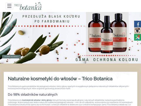Tricobotanica.pl włoskie kosmetyki do włosów