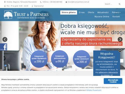 Trust & Partners Kraków biuro rachunkowe