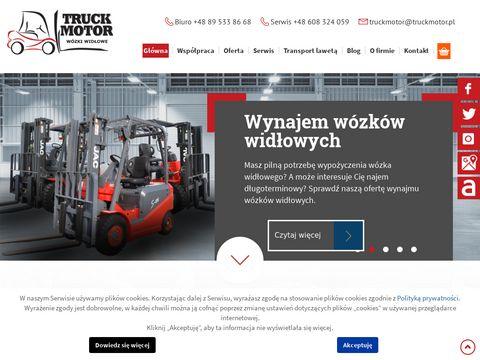 Truck Motor Bis Wózki widłowe Ewaryst Olsztyn