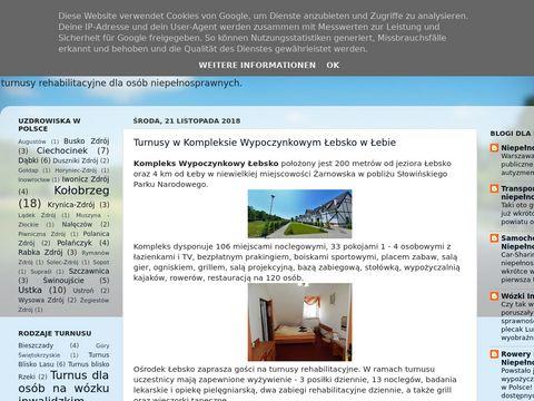 Turnusy.blogspot.com rehabilitacyjne