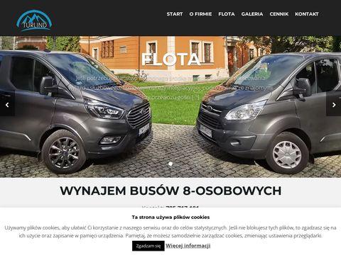 Turlind.com bus 9 osobowy wynajem Wrocław
