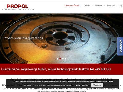 Propol - serwis, regeneracja turbosprężarek