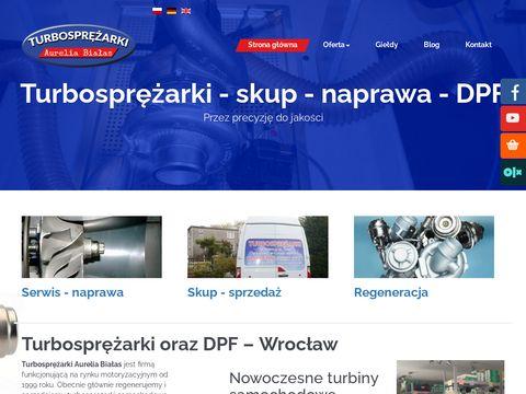 Turbosprezarki.com regeneracja turbiny cena