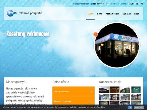 Szyldy reklamowe z Lublina