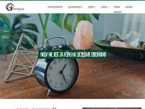 Równowaga - centrum psychoterapii - psycholog Łódź