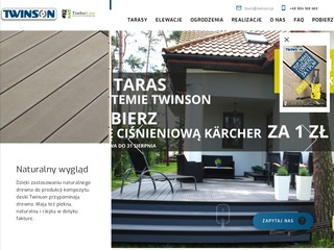 Twinson.pl trasy kompozytowe