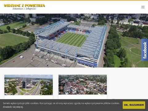 Widzianezpowietrza.pl filmowanie dronem