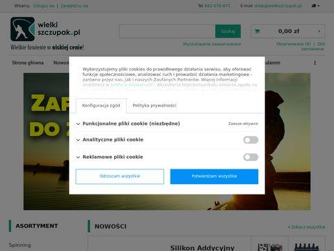 WielkiSzczupak.pl - sklep wędkarski online