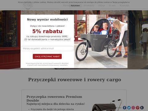 Wicycle.pl przyczepki rowerowe