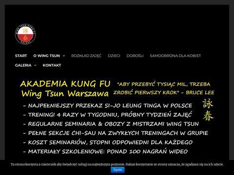 Wingtsunwarszawa.pl - Kung Fu