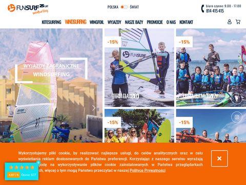 Fun Surf - szkoła windsurfingu