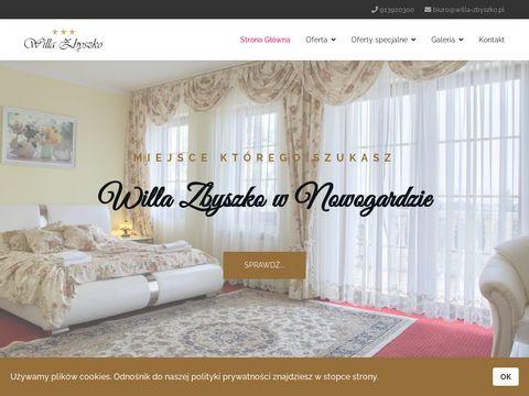 Willa-zbyszko.pl sale weselne zachodniopomorskie