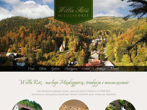Willaroz.pl - noclegi i pokoje w Międzygórzu