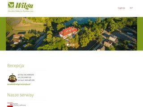 Wilga.turystyka.pl - ośrodek Wilga w Górznie