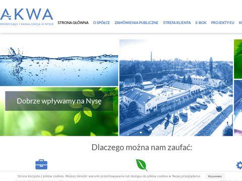 AKWA gospodarka wodna