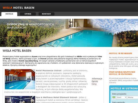 Hotele z basenem w Wiśle i Ustroniu