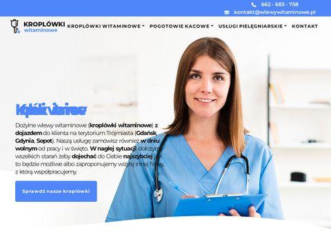 Wlewy-witaminowe.pl Gdynia
