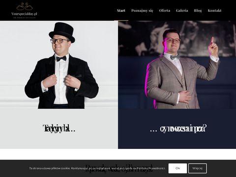 Wodzirejlukasz.pl na wesela