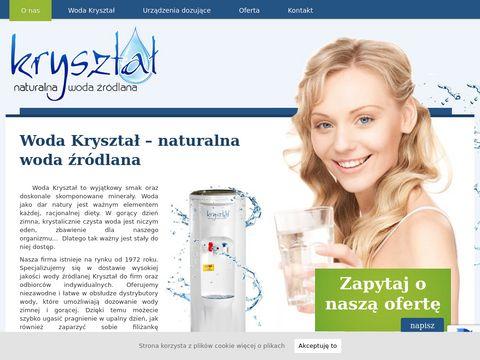 Firma Kanig Dystrybutory do wody