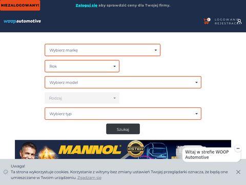 Woopauto.com platforma akcesoriów samochodowych
