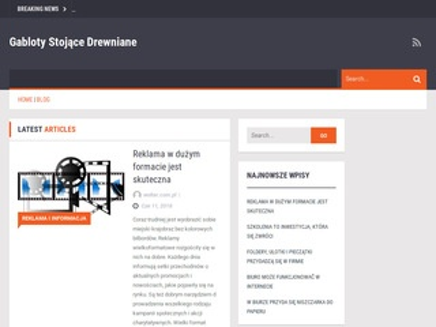 Woltar.com.pl gabloty sklepowe