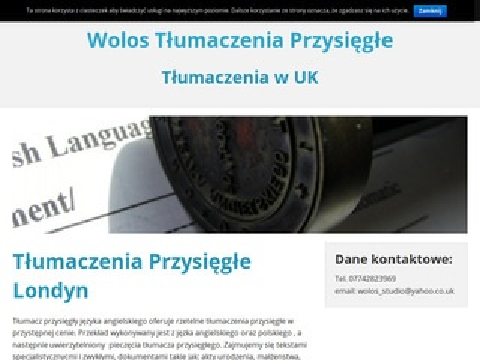 Wolostlumaczeniaprzysiegle.org