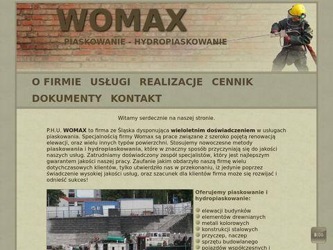 Womax-piaskowanie.pl - renowacje powierzchni