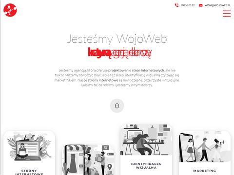 Wojoweb.pl strony www Kraków