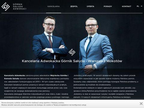 Wojciech-gornik.pl Adwokat