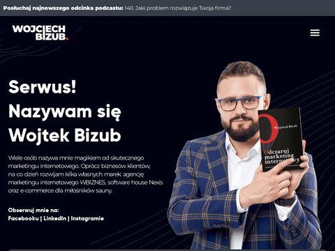 Wojciechbizub.pl copywriting sprzedażowy