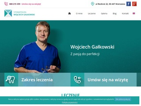 Wojciech Gałkowski iImplanty Warszawa