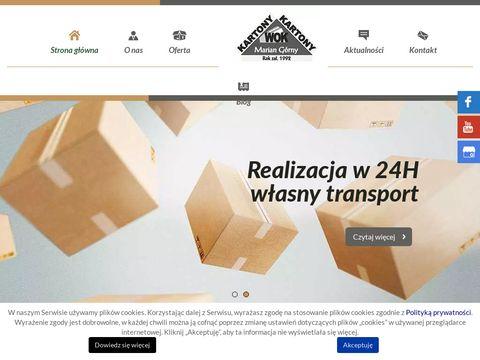 Wok Marian Górny produkcja opakowań