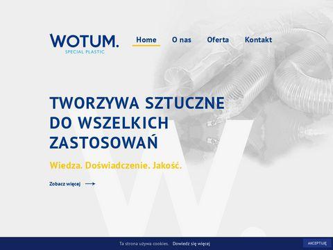 Wotum.pl tworzywa sztuczne